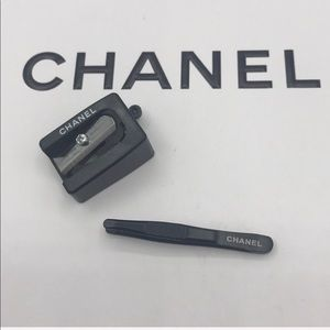 2 pc Chanel tweezer /pencil sharpener
